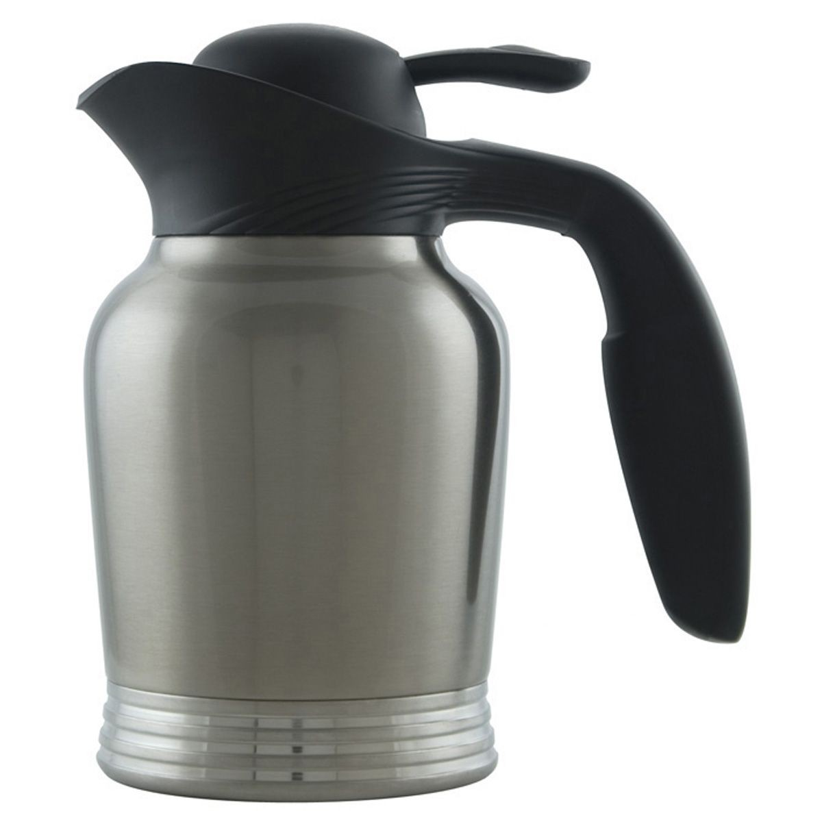 Service Ideas 10-00006-000 Stainless Insulated Vacuum Carafe, 20 oz.