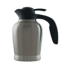 Service Ideas 10-00007-000 Stainless Insulated Vacuum Carafe, 1 Liter