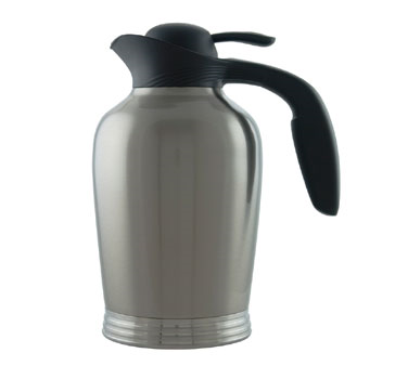 Service Ideas 10-00008-000 Stainless Insulated Vacuum Pitcher, 50-oz.