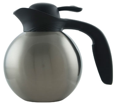 Service Ideas 10-00010-000 Stanley Commercial Stainless Steel Ergo-Serv Tea Server 1 Liter