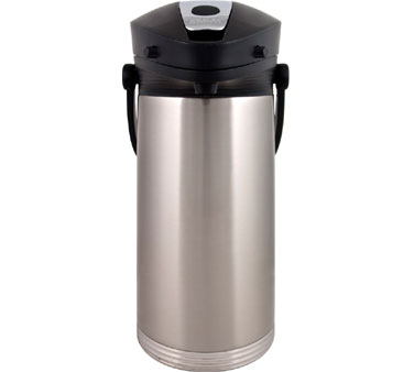 Service Ideas 10-00189-000 Airpot With Vacuum Insulation and Lever Lid, 3 Liter