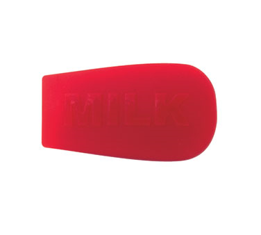 Service Ideas 10-00209-002 Stanley Commercial Content Indicator Sock- MILK: Red