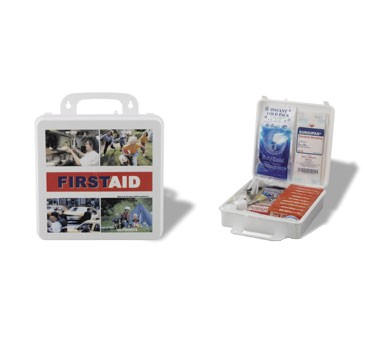 Service Ideas 1124SI First Aid Kit, 173 Piece Complete Kit