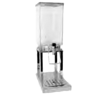 Service Ideas 20732124 Single Beverage Dispenser, 6 Liter
