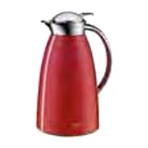 Service Ideas 3521202100 Alfi Gusto Fire Red Screw Top Thermal Coffee Server, 1 Liter