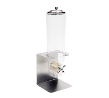Service Ideas 80700610 Single Cereal Dispenser with Portion Control Windmill, 3 Liter