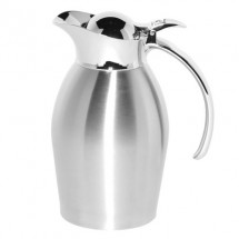 Service Ideas 98106BS Brushed Stainless Steel Carafe, 20 oz.