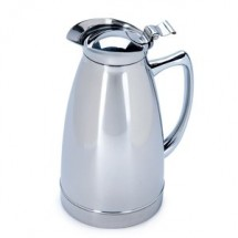 Service Ideas 981C06PS Polished Stainless Steel Carafe, 20 oz.
