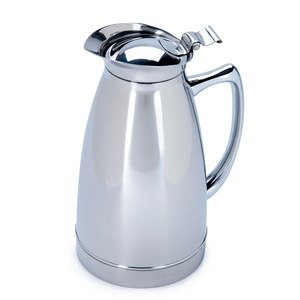 Service Ideas 98106PS Polished Stainless Steel Carafe, 20 oz.