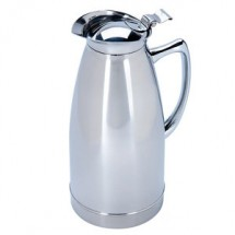 Service Ideas 98110PS Polished Stainless Steel Carafe, 34 oz.