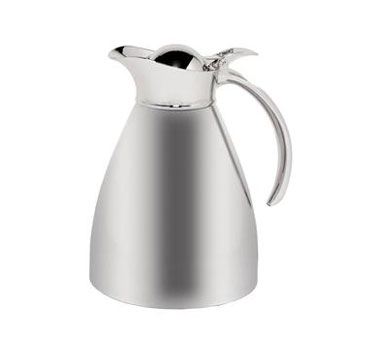 Service Ideas 98210 Polished Stainless Steel Server, 34 oz.