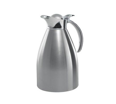 Service Ideas 98215BS 982 Series Brushed Stainless Steel Server, 1.5 Liter
