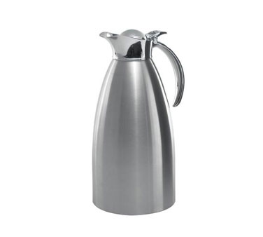 Service Ideas 98220BS 982 Series Brushed Stainless Steel Server, 2 Liter