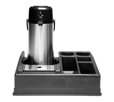 Service Ideas APLR15BL Single Airpot Station with 5 Compartments