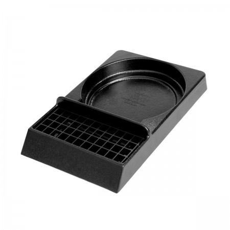 Service Ideas APS1 Airpot Stand with Drip Tray, Black