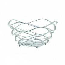Service Ideas BKSCRD9 Round Wire Basket 9""