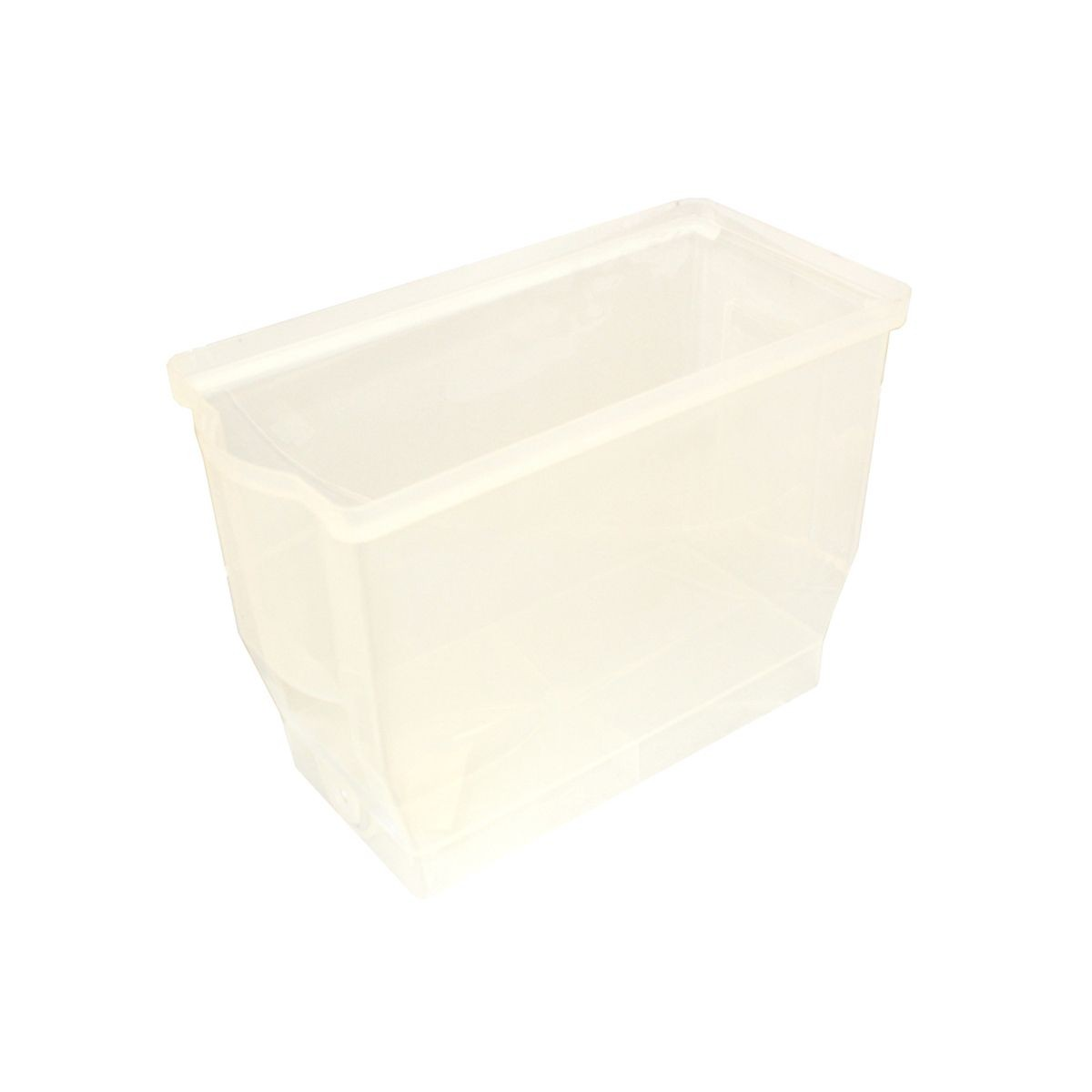 Service Ideas CBDCONT Opaque Plastic Container for CBDP3BL