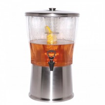 Service Ideas CBDRT5SS Stainless Infuser Beverage Dispenser, 5 Gallon