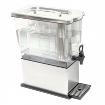 Service Ideas CBDT3SS Rectangular Beverage Dispenser, 3 Gallon
