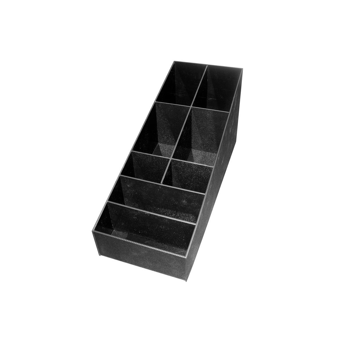 Service Ideas CCPL8 8-Compartment Condiment Caddy