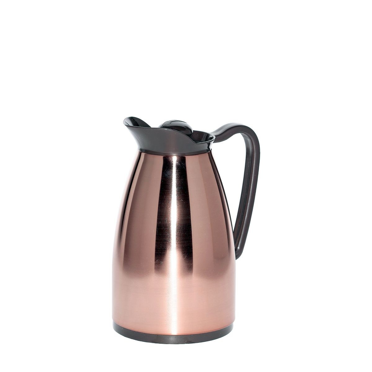 Service Ideas CGC060CP Copper Classic Glass Insulated Carafe, .6 Liter