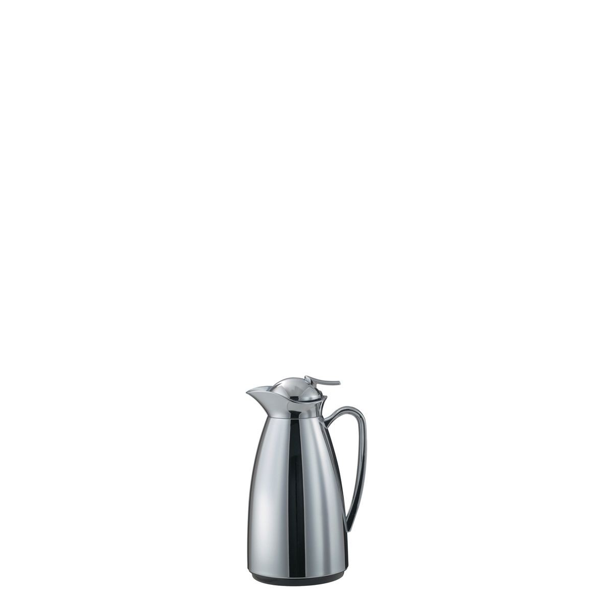 Service Ideas CJ6CH Classy Vacuum Carafe with Glass Liner, Polished Stainless .6 Liter