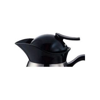Service Ideas CJRL1BLD Black Decaf Lid for Vacuum Carafe
