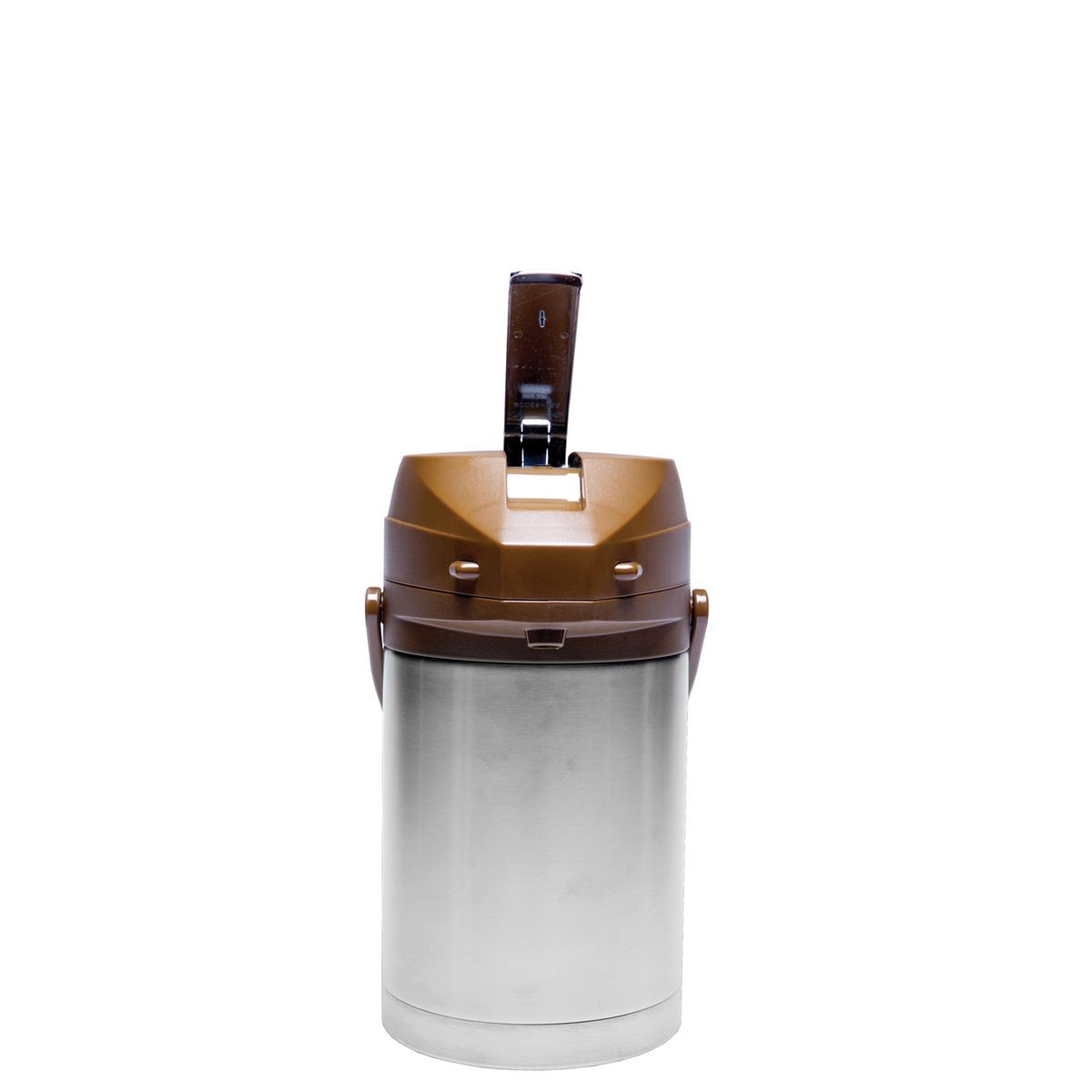 Service Ideas CTAL22BR Brown Top Stainless Steel Lined Color Me SVAC Airpot, 2.2 Liter