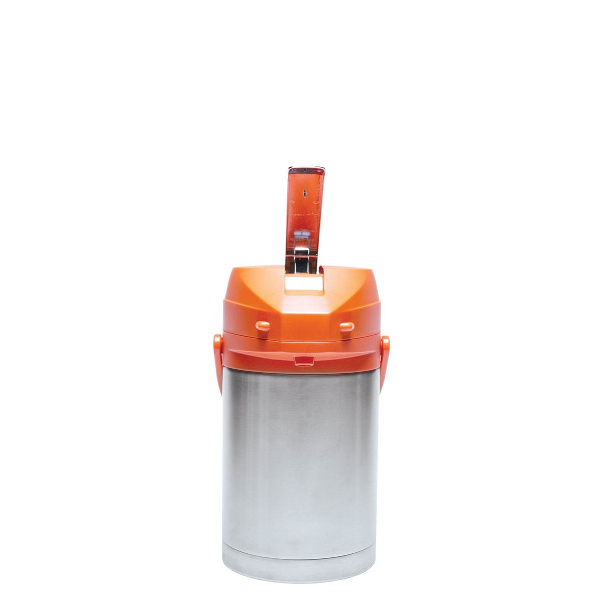 Service Ideas CTAL22OR Orange Top Stainless Steel Lined Color Me SVAC Airpot, 2.2 Liter