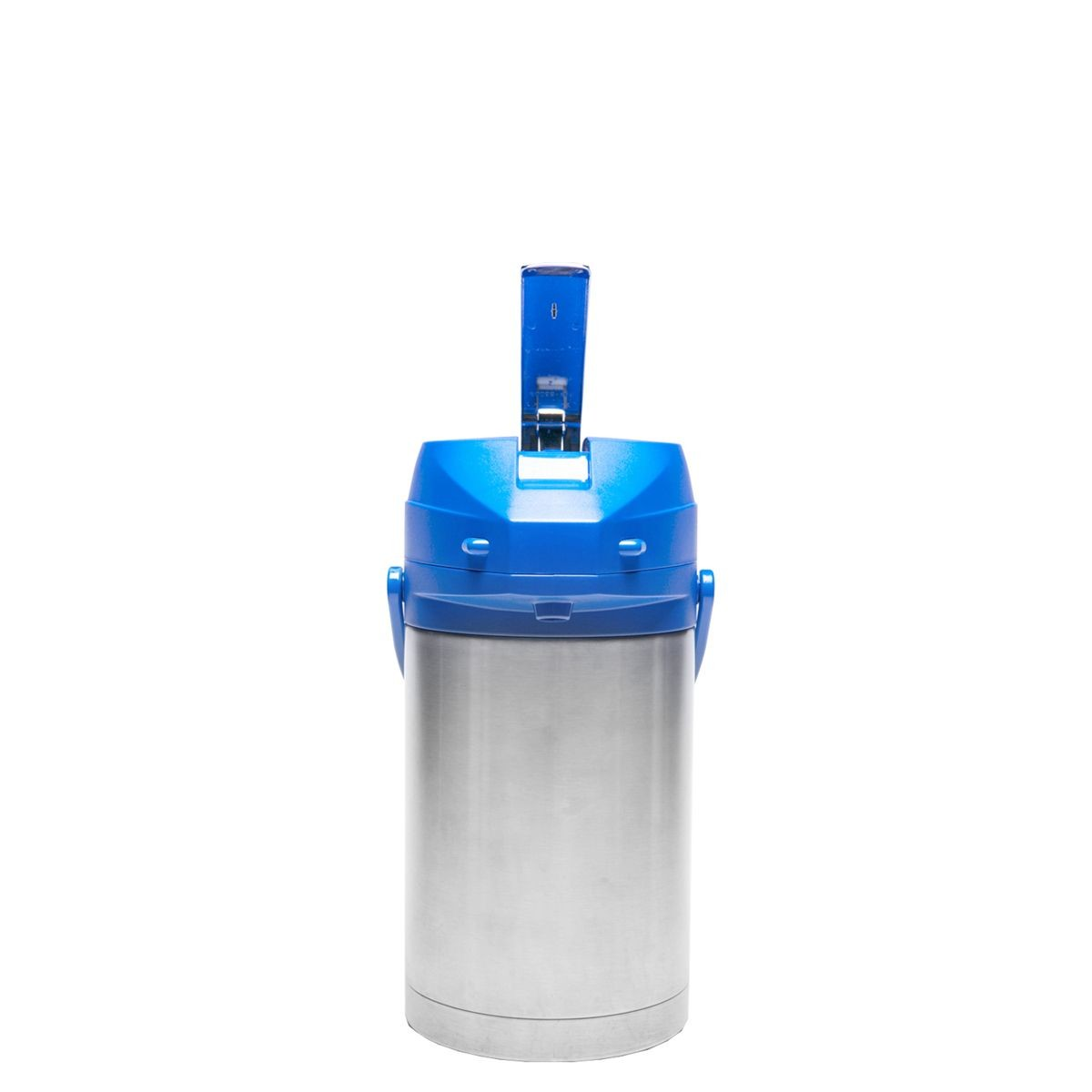 Service Ideas CTAL25BLU Blue Top Stainless Steel Lined Color Me SVAC Airpot, 2.5 Liter