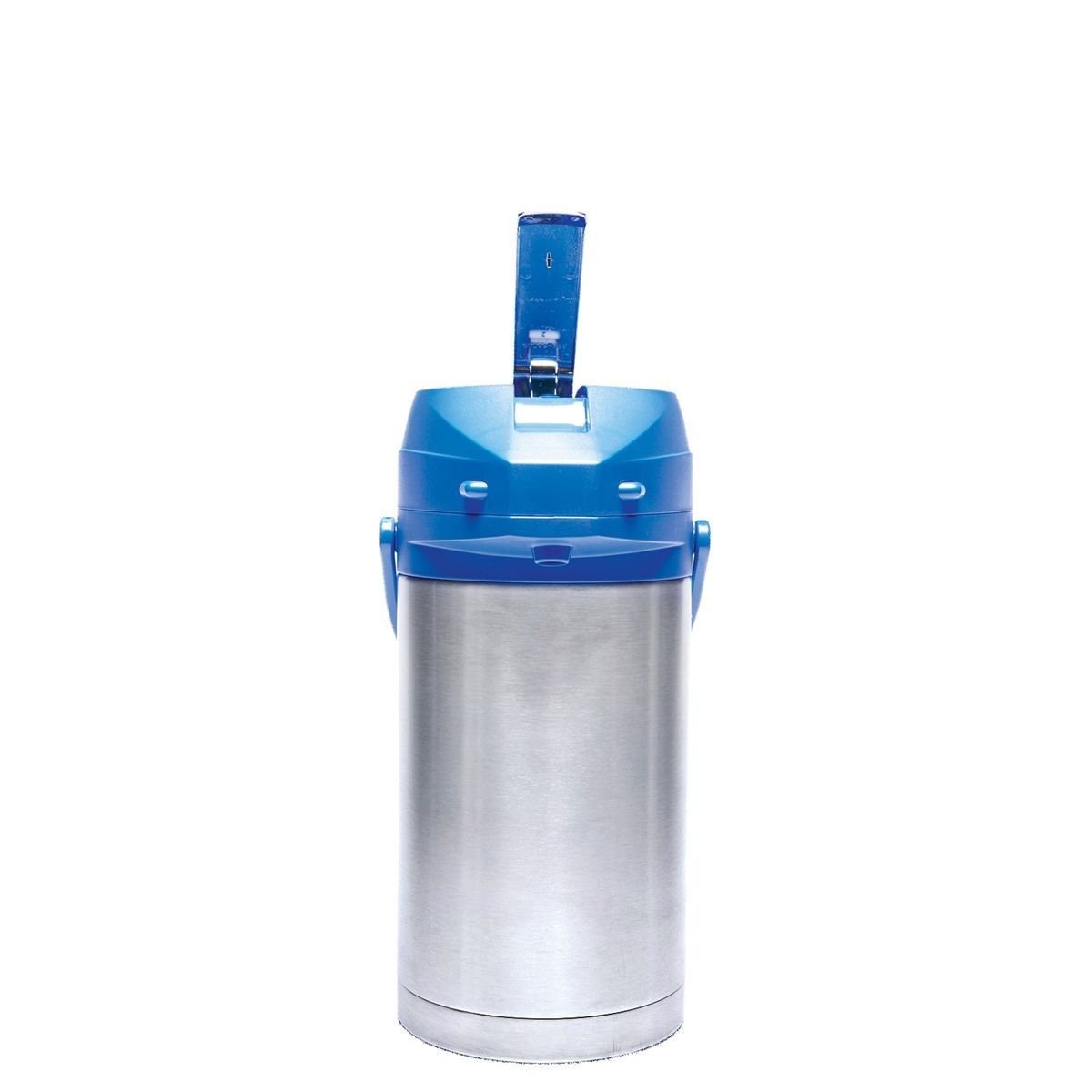 Service Ideas CTAL30BLU Blue Top Stainless Steel Lined Color Me SVAC Airpot, 3.0 Liter