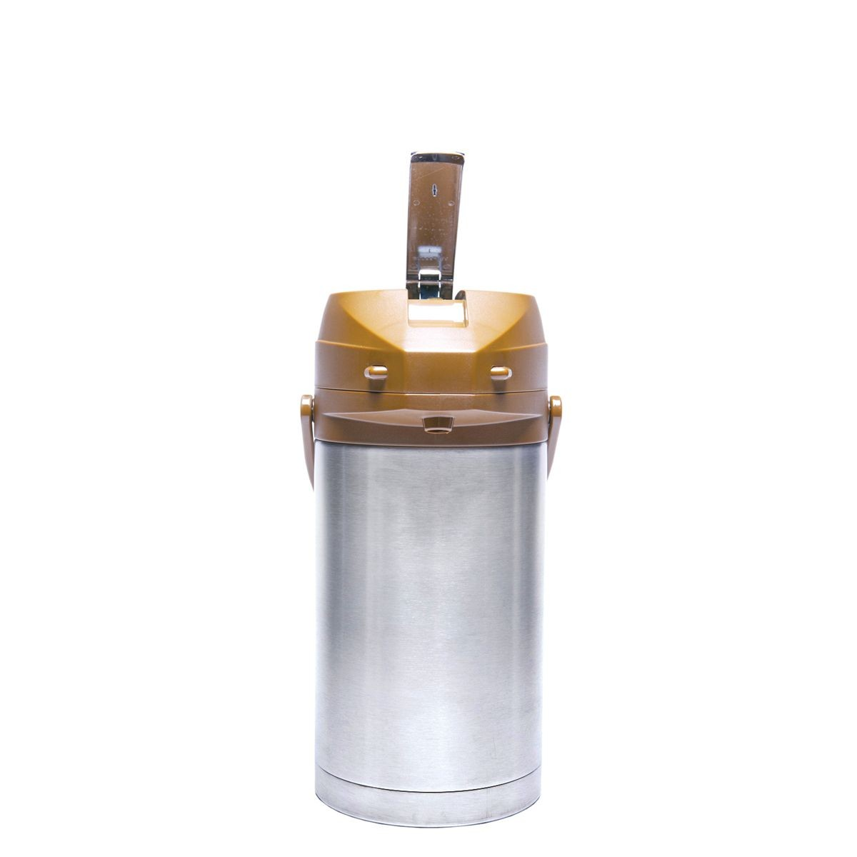 Service Ideas CTAL30BR Brown Top Stainless Steel Lined Color Me SVAC Airpot, 3.0 Liter