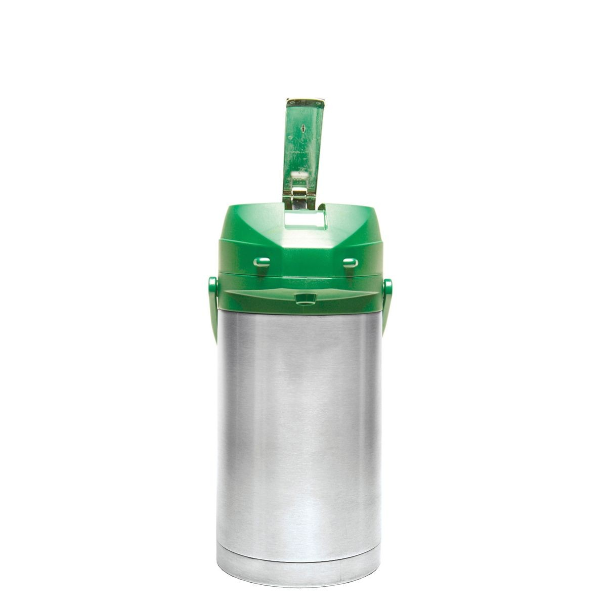 Service Ideas CTAL30GRN Green Top Stainless Steel Lined Color Me SVAC Airpot, 3.0 Liter