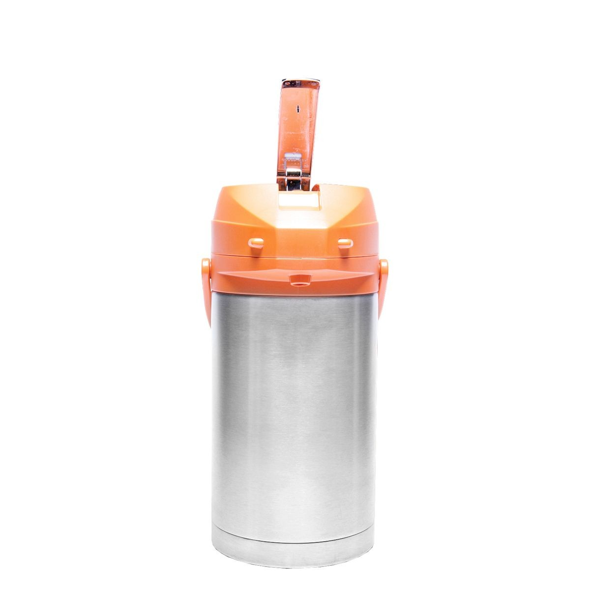 Service Ideas CTAL30OR Orange Top Stainless Steel Lined Color Me SVAC Airpot, 3.0 Liter