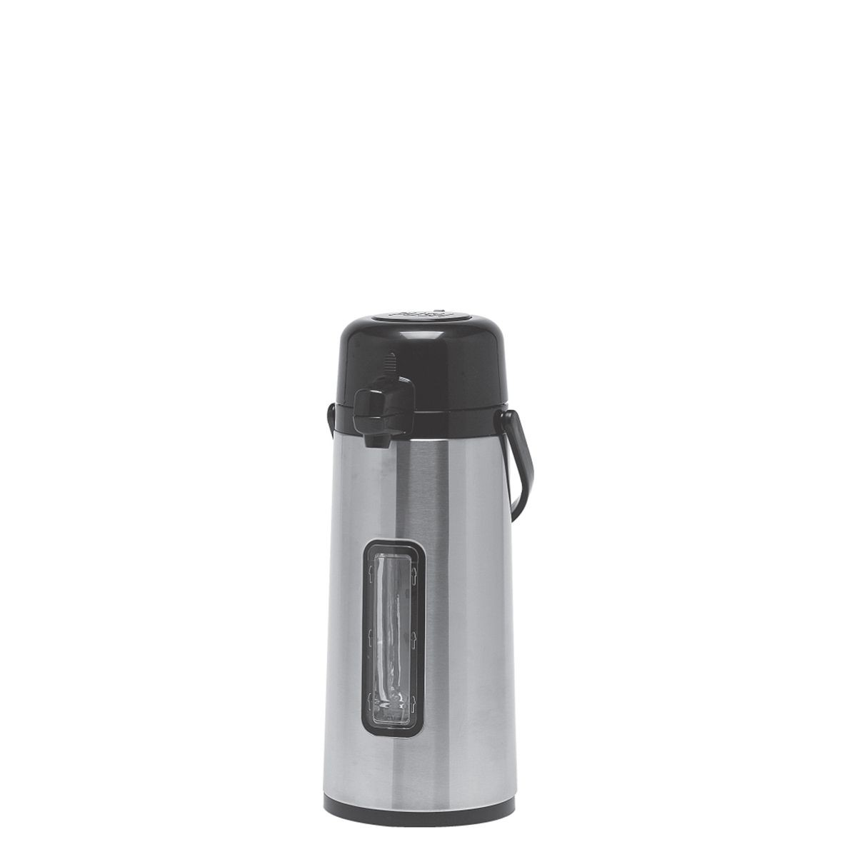 Service Ideas ECA22SG Eco Air Vacuum Insulated Airpot with Pump 74.4 oz.