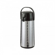 Service Ideas ECAJ22SS Eco-Air Jewel Shell Airpot 2.2 Liter