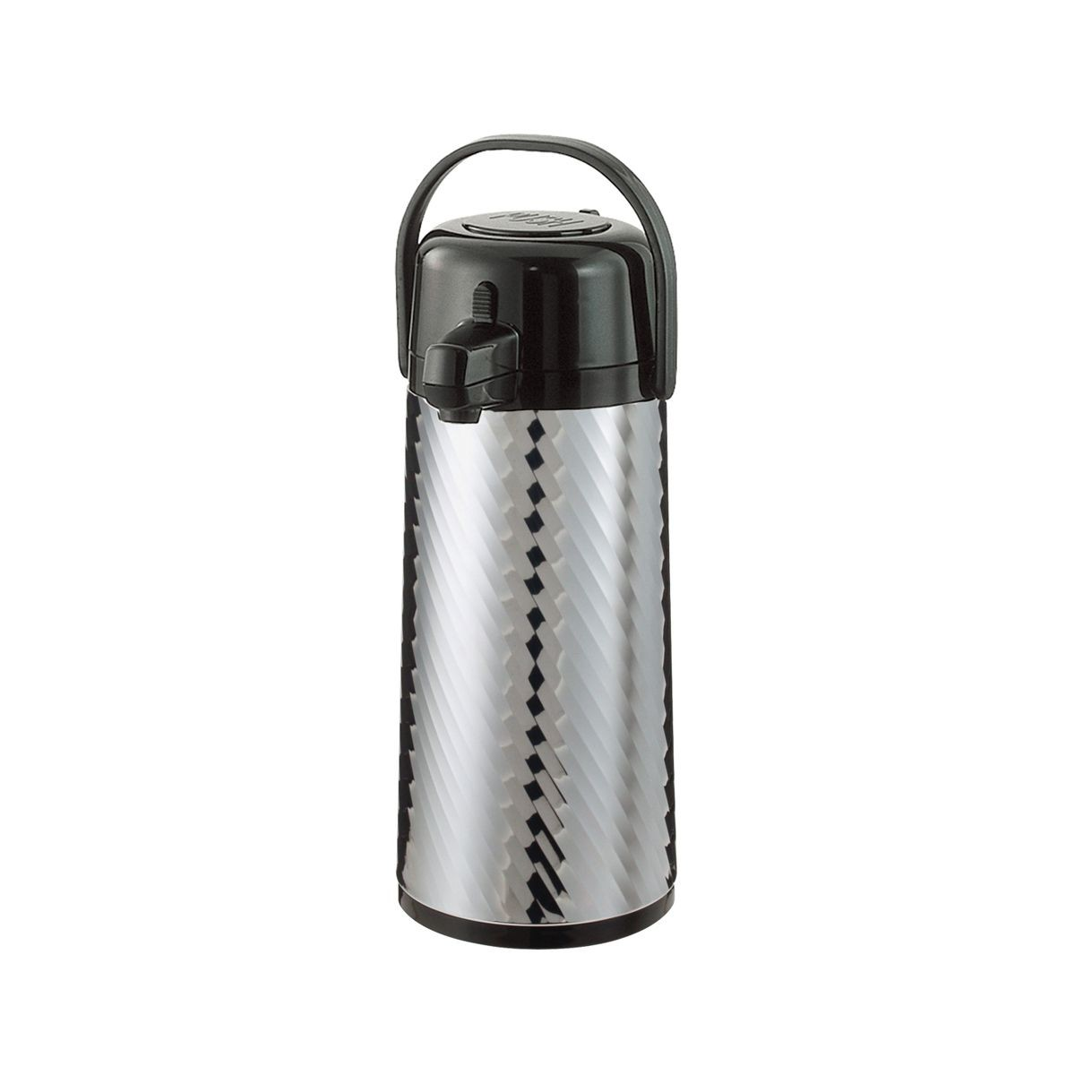 Service Ideas ECAJS22S Eco Air Jewel Shell Insulated Stainless-Lined Airpot, 2.4 Liter