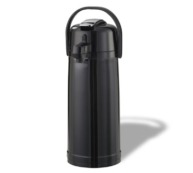Service Ideas ECALS22PBLK Eco-Air Black Airpot with Lever Lid ,2.4 Liter