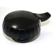 Service Ideas ECLBL Eco-Serv Black Replacement Lid for ECO6 and ECO13