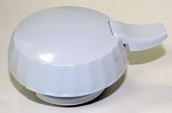 Service Ideas ECLWH Eco-Serv Replacement Lid for 1.3 Liter Server, White