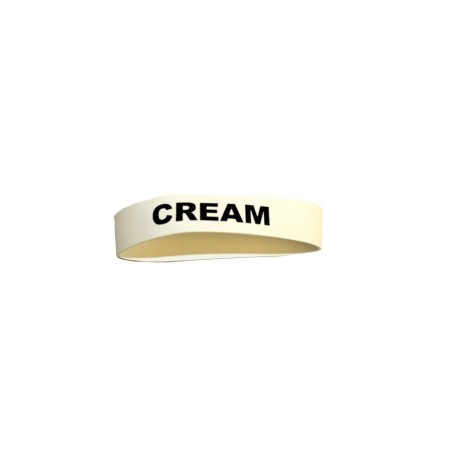 "Service Ideas FBCREAM Flavorband Label ""Cream"""