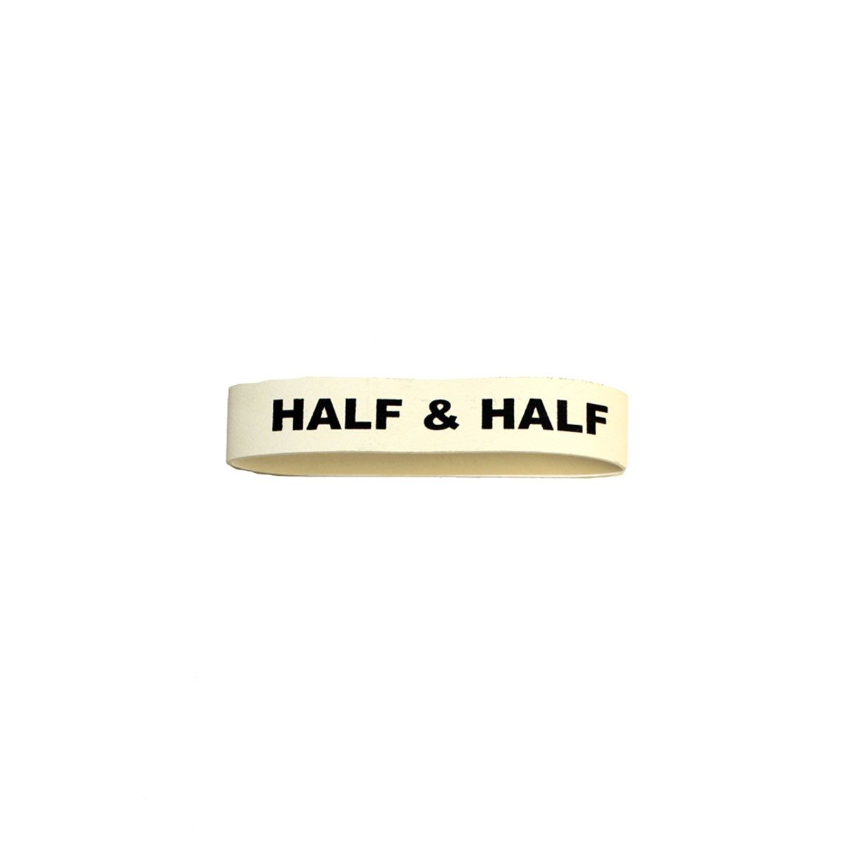 "Service Ideas FBHALF&HALF Flavorband Label ""Half & Half"""