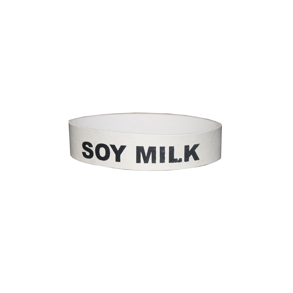 "Service Ideas FBSOYMILK Flavorband Label, ""Soy Milk"""
