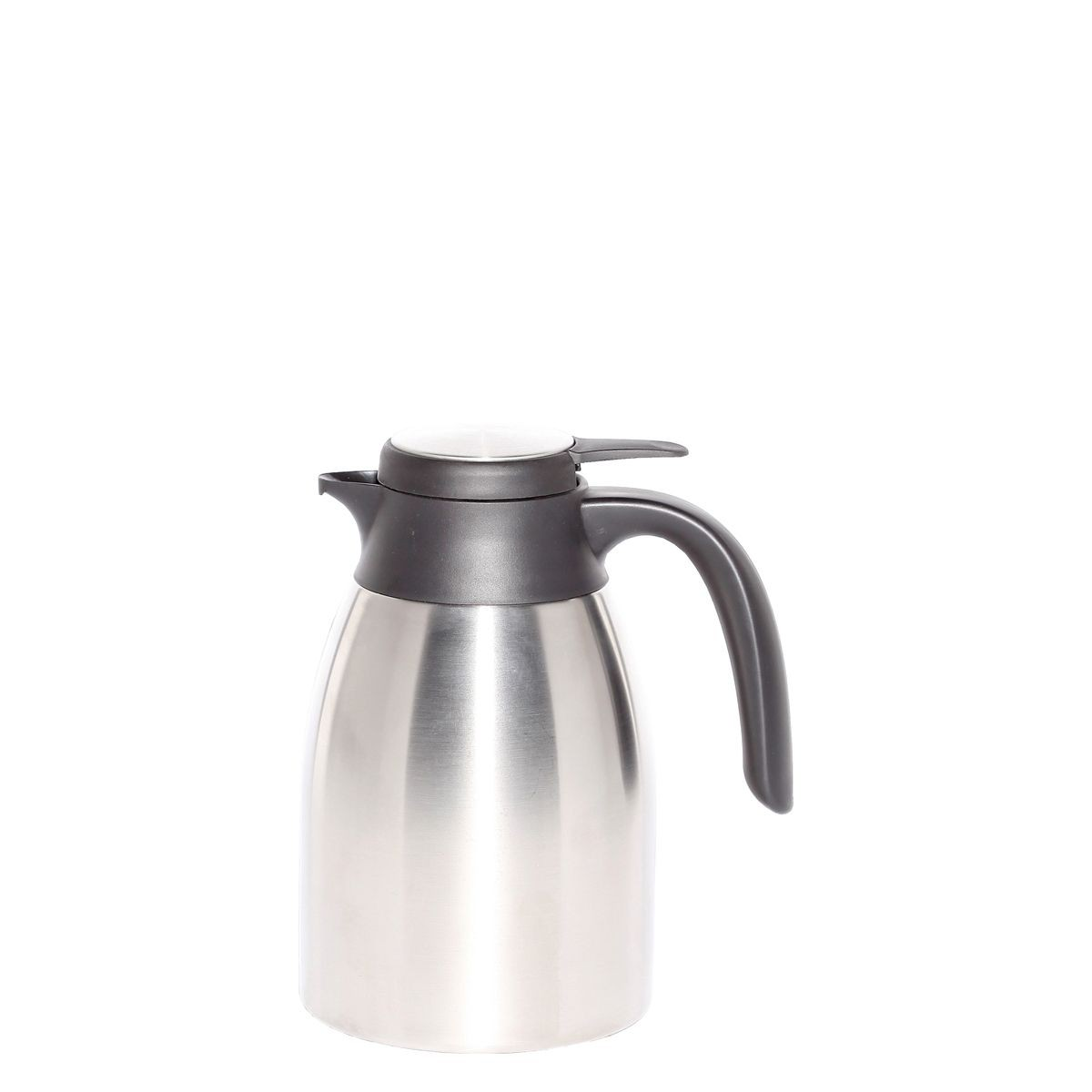 Service Ideas FCC12SS Stainless Steel Creamer, 1.2 Liter