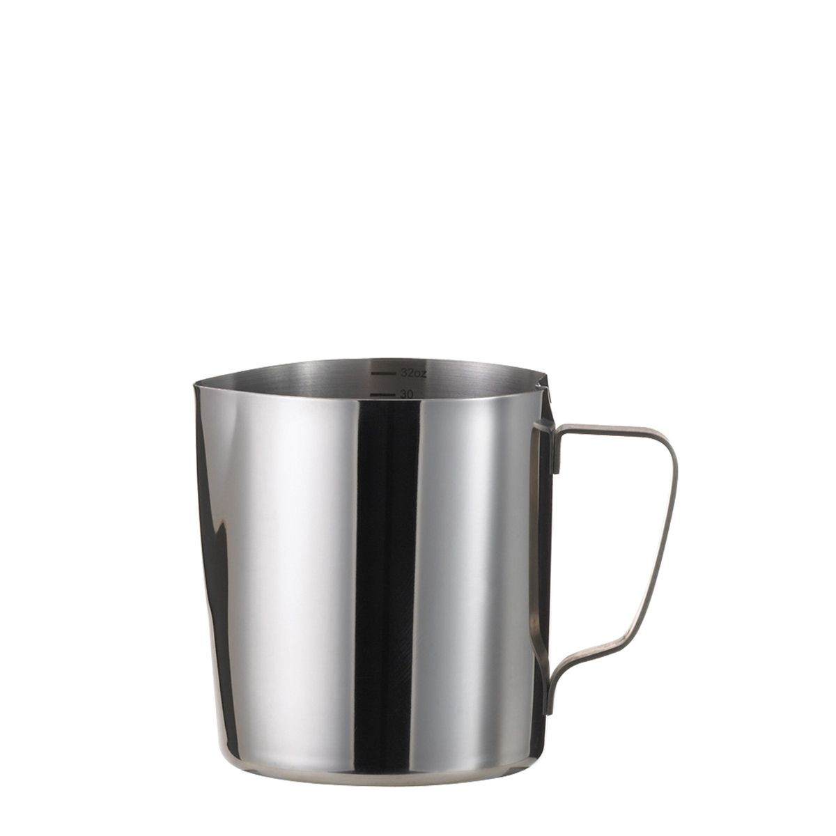 service ideas froth326 frothing pitcher 32 oz with 6 oz increments. Black Bedroom Furniture Sets. Home Design Ideas