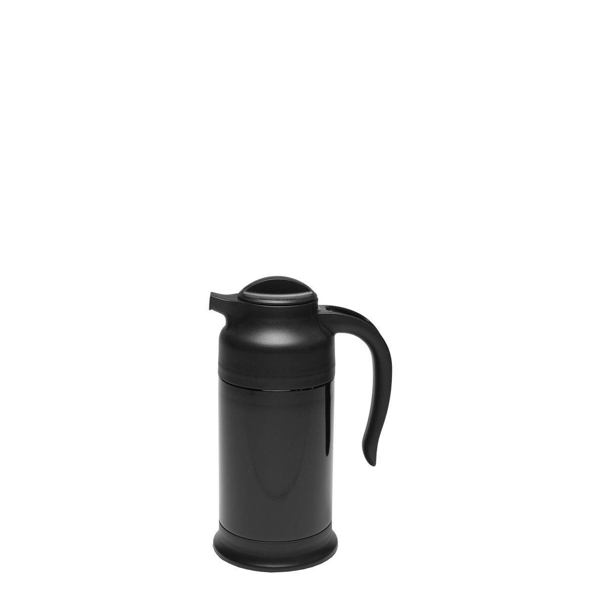 Service Ideas FS7BL Steelvac Black Carafe with Base 0.7 Liter