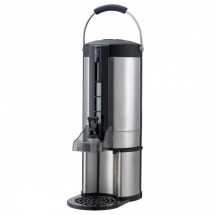 Service Ideas GIU2G Stainless Steel Thermal Beverage Dispenser, 2.0 Gallon