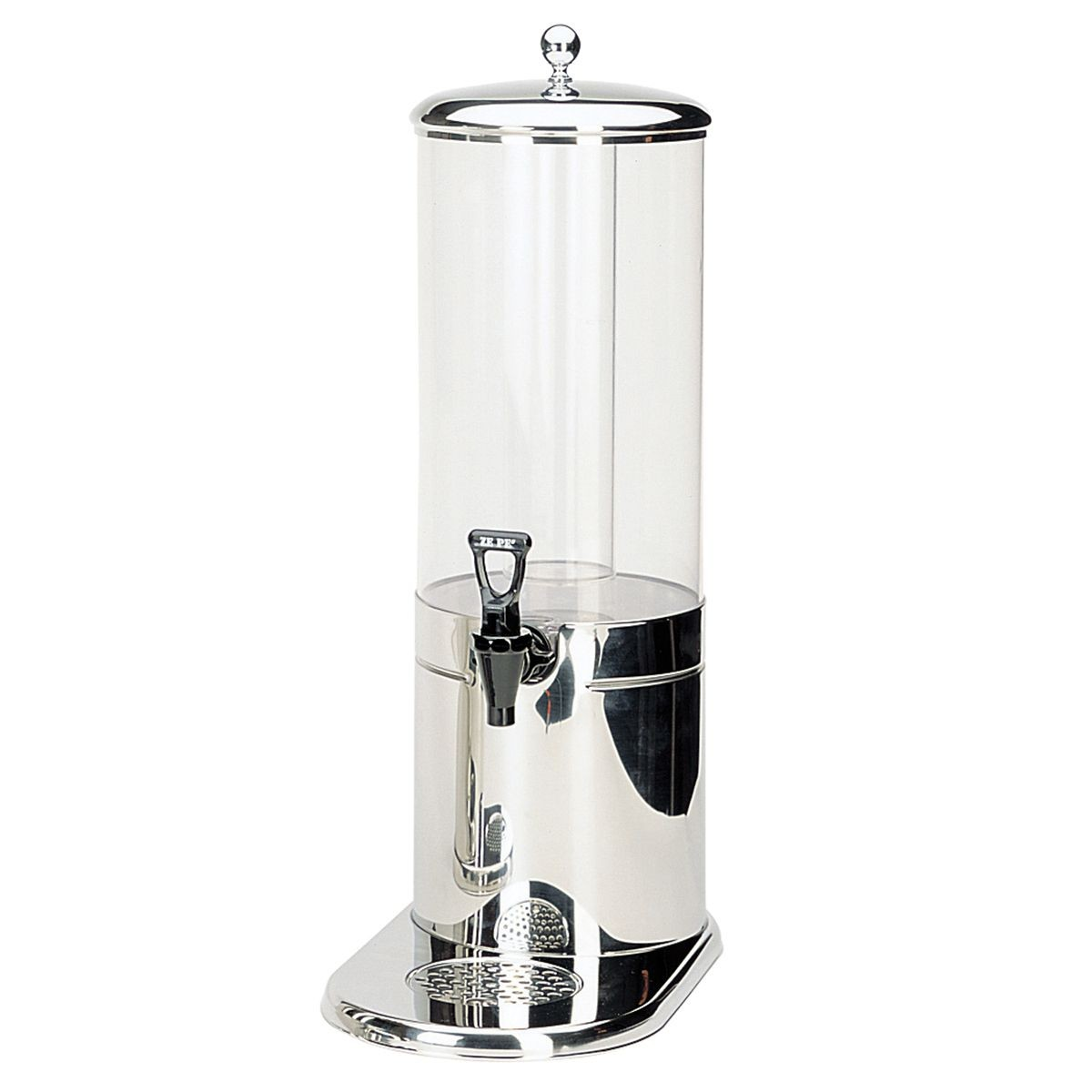 Service Ideas GSP1S7 Ze Pe Stainless Beverage Dispenser, 7 Liter