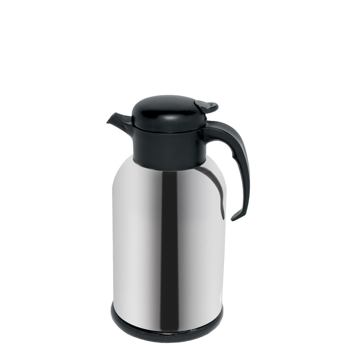 Service Ideas H100CH Modern Chrome Thermal Coffee Server, 1 Liter