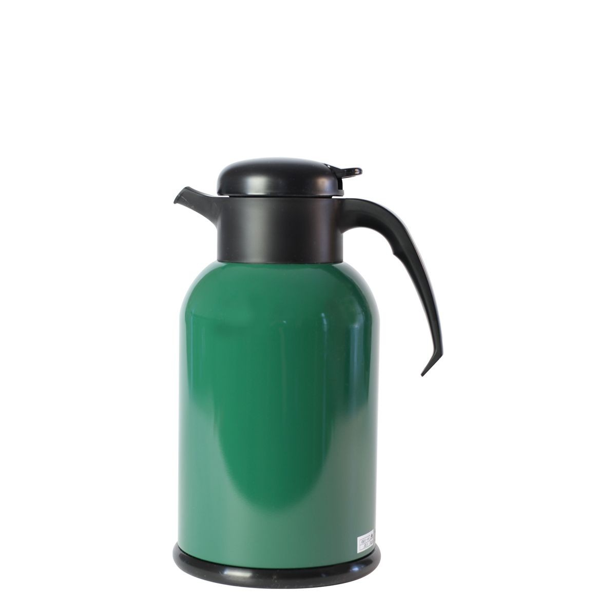 Service Ideas H100FG Modern Forest Green Thermal Coffee Server, 1 Liter